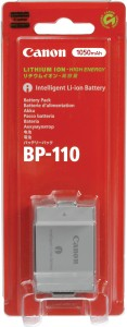 Canon BP- 110 Rechargeable Li-ion Battery