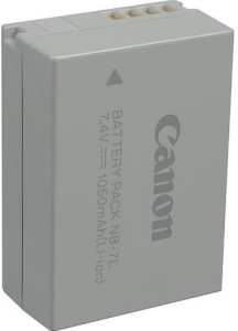 Canon Nb- 7L Rechargeable Li-ion Battery
