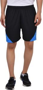 Gag Wear Solid Men & Women Black, Light Blue Sports Shorts