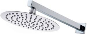 Mily 6x6 Ultra Slim Round shower with 12inch Arm Shower Head