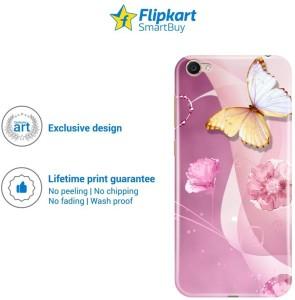 half off bc52d 50b45 Flipkart SmartBuy Back Cover for Vivo Y55LMulticolor, Plastic