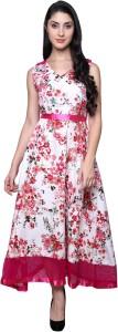 Dorota Women's Maxi Pink Dress