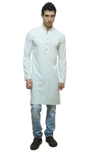 f5604418 Color Opera Kreation Solid Men s Straight Kurta White Best Price in ...