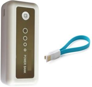 SHOPPER HUB 11008 1 USB PORTABLE CHARGER 6000 mAh Power Bank