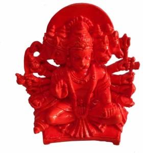 0373ffc43 Panchmukhi hanuman ji sindhuri color Showpiece 15 cm Marble Orange ...