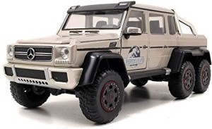 Jada Toys Jurassic World Mercedes G-Wagon 6 x 6 AMG Die Cast  VehicleMulticolor