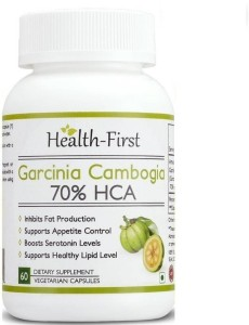 Health first Garcinia Cambogia Max Extract by Health first Pure and natural,Appetite Suppressant and Weight Loss Supplement, Premium Quality - No Artificial Additives - Lose Weight with Fat Burner Pills