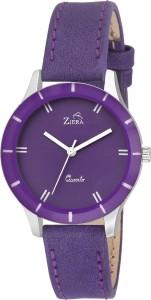 Ziera ZR8041 Purple Dial Analog Watch  - For Girls