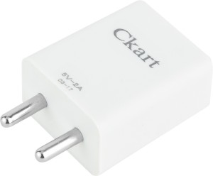 Ckart 2A. Fast Charger With Data/Sync Cable (1mtr) For Mi 4i Mobile Charger