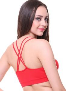 d5bc49e6cf6 Glus by Glupick SpiderWeb Girl s Women s Bralette Red Bra Best Price ...
