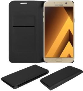 super popular 7444f 0ca91 STUDOZ Flip Cover for Samsung Galaxy A7 (2017)Black