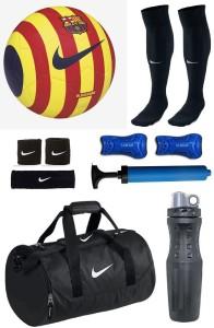 Retail World Ordem Orange/White Football Combo Football Kit