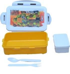 Nayasa high quality super stylish Camp (yellow) 1 Containers Lunch Box