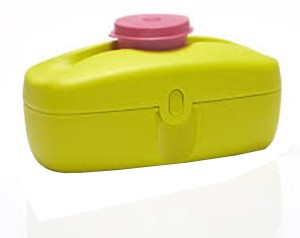 Tupperware Snack Buddy 1 Containers Lunch Box