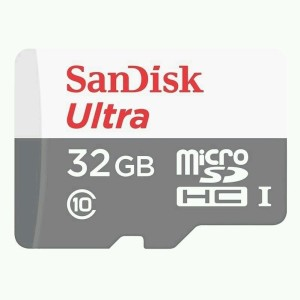 SanDisk Ultra 32 GB MicroSD Card Class 10 48 MB/s  Memory Card