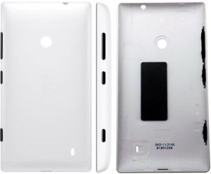 buy popular e47bd 8c790 DELMOHUT Replacement Back Door Cover Panel For Nokia Lumia 520 - White Back  PanelWhite