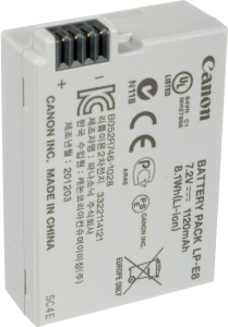 Canon LP- E8 Rechargeable Li-ion Battery