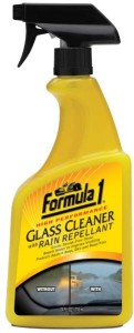 Formula 1 615807 Glass Cleaner with Rain Repellent Liquid Vehicle Glass Cleaner