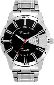 Britex BT6046 Bel Homme~ Day and Date Analog Watch  - For Men
