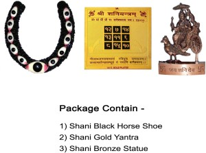 Real Seed Shani Black Horse Shoe - Kaale Ghode ki Naal Mantra Siddh with  Shabar Mantra Evil Eye Protector Iron, Brass, Bronze Yantra