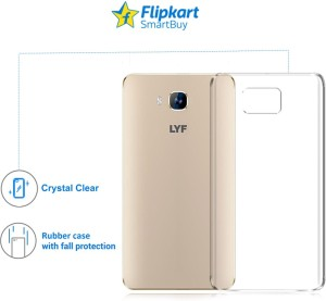 more photos 23343 5eaa5 Flipkart SmartBuy Back Cover for LYF Wind 2Transparent