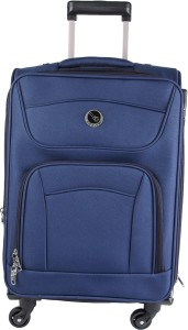 EMBLEM SIGMA 55CM BLUE Expandable  Check-in Luggage - 20 inch