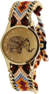 The Smokiee 23462L Muticolour Band Analog Watch  - For Girls