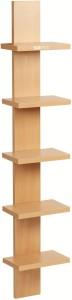 Bluewud Louis Wall Shelf Engineered Wood Open Book Shelf