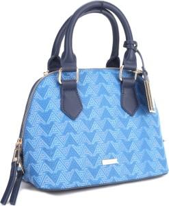 19cada07412 ALDO Satchel Black Beige Blue Best Price in India