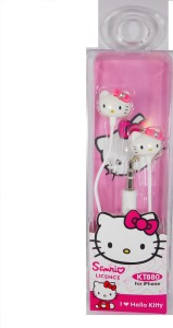 Royle Katoch Hello Kitty Earbuds Stereo Wired Headphones (UNIVERSAL PHONE & I PHONE) (KT 880) Wired Headphones