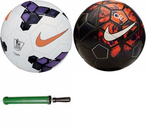 RSO 32 Pannel American 2 balls With Air Pump Football -   Size: 5
