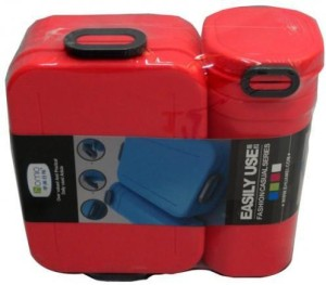 Tuzech Easy Buckle Lunch Box with Water Boottle ( Be Sporty) 1 Containers Lunch Box