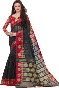 Yetnik Printed Bollywood Silk Cotton Blend Saree