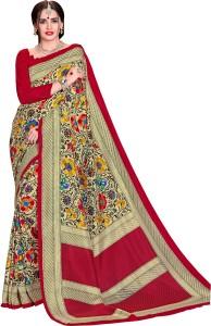 Yetnik Printed Bollywood Crepe Saree