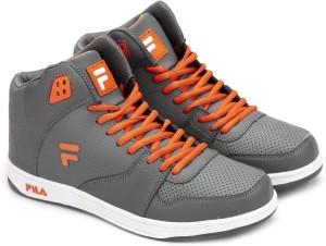 Fila Sneakers Grey Orange Best Price in India  8854b108acc9