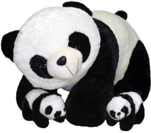 AV Toys Panda Mother With 2 Baby  - 60 cm