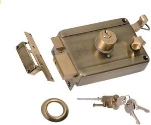 link Brass Polished door lockGold