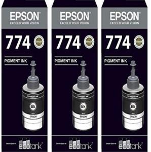 Epson Ink T7741 Black Ink Pack of 3 For M100/200 Single Color Ink