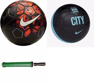 RSO 32 Pannel Premium 2 balls With Air Pump Football -   Size: 5