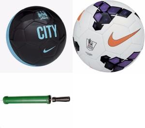 RSO 32 Pannel Brazil 2 balls With Air Pump Football -   Size: 5