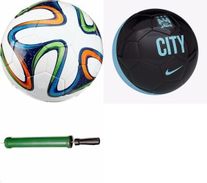 RSO 32 Pannel Worldcup 2 balls With Air Pump Football -   Size: 5