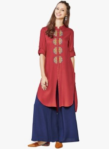 Amayra Festive & Party Embroidered Women's Kurti