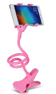 Smarty Universal Flexible 360⁰ Snake Style Stand for Apple iPhone/Samsung/Android Mobiles Long Lazy Holder (BABY PINK) Mobile Holder