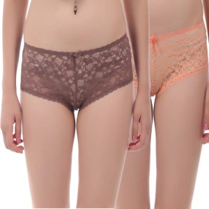 71f9c2eb6c2 Tace Women s Boy Short Brown Pink Panty Pack of 2 Best Price in ...