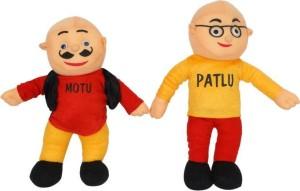Imported Motu Patlu Soft Toy  - 35 cm
