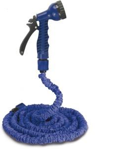 Shrih SH-03973 7-Pattern Spray Nozzle 50ft Longest Flexible Expandable Garden Hose Pipe