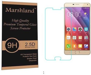 Marshland Tempered Glass Guard for Gionee Marathon M5Plus