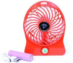 EMERET ETFAN MINI TABLE FAN-MULTICOLOR (Color May Vary) USB Fan