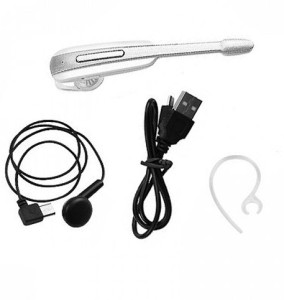 Shopkeeda Services HM1000-Wht Wireless Bluetooth Headset With Mic