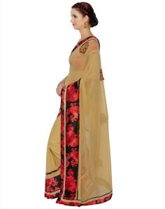 01121c037dc30d Desi Butik Embroidered Fashion Georgette Saree Beige Best Price in India | Desi  Butik Embroidered Fashion Georgette Saree Beige Compare Price List From Desi  ...